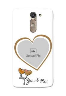 LG G3 Stylus You And Me Mobile Back Case Design