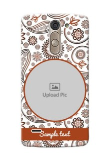 LG G3 Stylus Floral Abstract Mobile Case Design