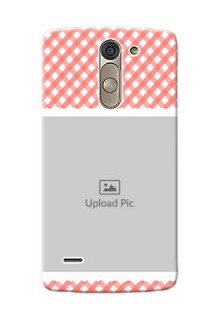 LG G3 Stylus Pink Pattern Mobile Case Design