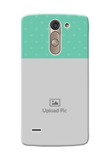 LG G3 Stylus Lovers Picture Upload Mobile Cover Design
