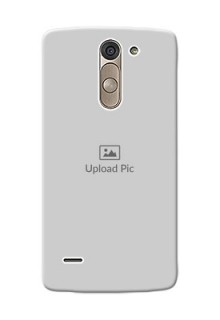 LG G3 Stylus Full Picture Upload Mobile Back Cover Design