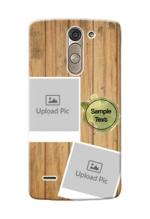 LG G3 Stylus 3 image holder with wooden texture  Design