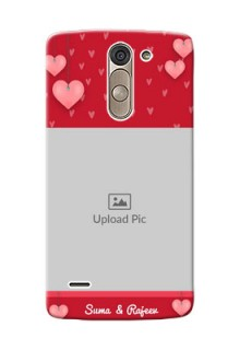 LG G3 Stylus valentines day couple Design