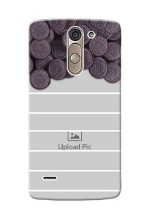 LG G3 Stylus oreo biscuit pattern with white stripes Design Design