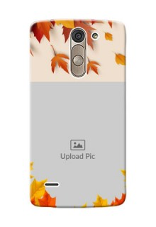 LG G3 Stylus autumn maple leaves backdrop Design