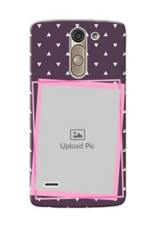 LG G3 Stylus triangural seamless pattern with abstract frames Design Design