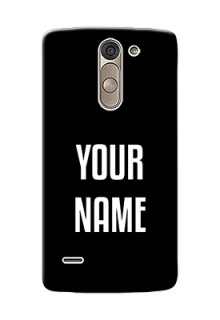 Lg G3 Stylus Your Name on Phone Case