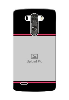 LG G3 Photo With Text Mobile Case Design