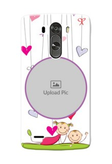 LG G3 Cute Babies Mobile Cover  Design