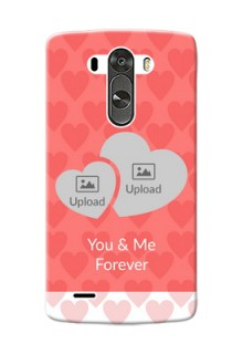LG G3 Couples Picture Upload Mobile Cover Design