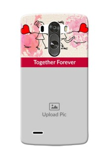 LG G3 Just You And Me Mobile Back Case Design