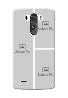 LG G3 Multiple Picture Upload Mobile Cover Design