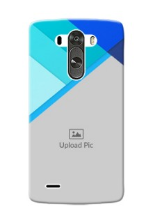 LG G3 Blue Abstract Mobile Cover Design