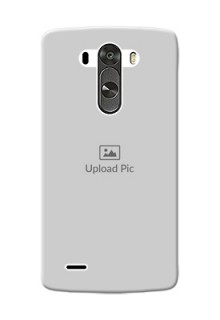 LG G3 Full Picture Upload Mobile Back Cover Design