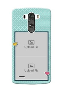 LG G3 2 image holder with pattern Design
