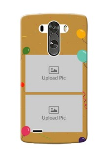 LG G3 2 image holder with birthday celebrations Design