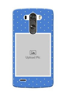 LG G3 2 image holder polka dots Design