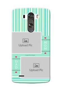 LG G3 mom and dad image holder Design