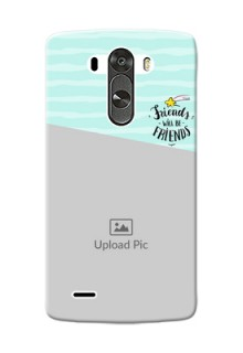 LG G3 2 image holder with friends icon Design