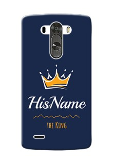 Lg G3 King Phone Case with Name