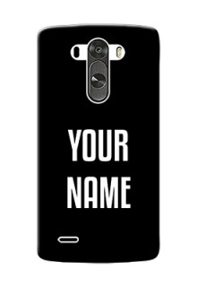 Lg G3 Your Name on Phone Case