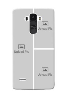 LG G4 Stylus Multiple Picture Upload Mobile Cover Design