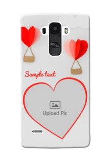 LG G4 Stylus Love Abstract Mobile Case Design