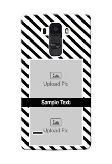 LG G4 Stylus 2 image holder with black and white stripes Design