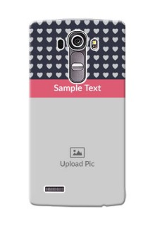 LG G4 Love Symbols Mobile Cover Design