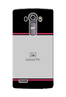 LG G4 Photo With Text Mobile Case Design