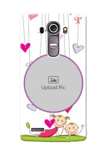 LG G4 Cute Babies Mobile Cover  Design