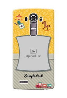 LG G4 Baby Picture Upload Mobile Cover Design