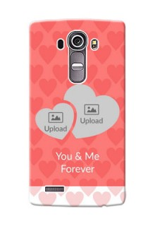 LG G4 Couples Picture Upload Mobile Cover Design