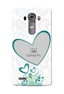 LG G4 Couples Picture Upload Mobile Case Design