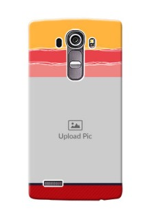 LG G4 Colourful Mobile Case Design