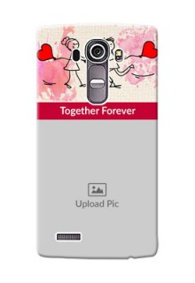 LG G4 Just You And Me Mobile Back Case Design
