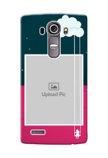 LG G4 Cute Girl Abstract Mobile Case Design