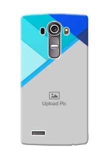 LG G4 Blue Abstract Mobile Cover Design