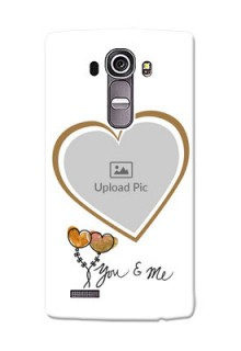 LG G4 You And Me Mobile Back Case Design