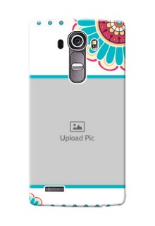 LG G4 Colourful Flowers Mobile Cover Design