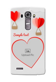 LG G4 Love Abstract Mobile Case Design