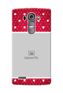 LG G4 Beautiful Hearts Mobile Case Design