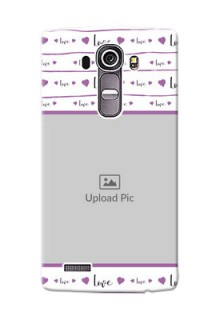 LG G4 Couples Mobile Case Design