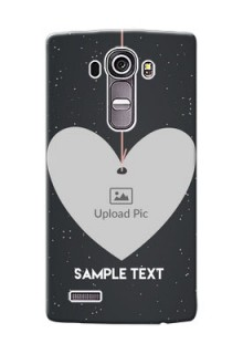 LG G4 Hanging Heart Mobile Back Case Design