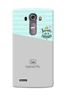 LG G4 2 image holder with friends icon Design