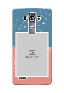 LG G4 2 colour backdrop with music theme Design Design