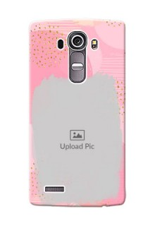 LG G4 splashes backdrop with gold glitter sprinkles Design