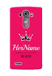 Lg G4 Queen Phone Case with Name