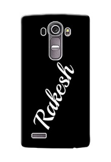 Lg G4 Custom Mobile Cover with Your Name
