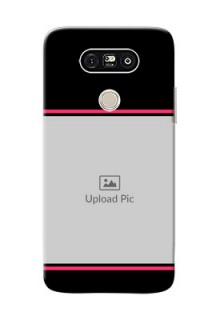 LG G5 Photo With Text Mobile Case Design